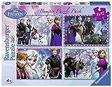 Ravensburger Frozen–Bumper Pack, vier Puzzle von 42Teile, 36x 26cm 70251