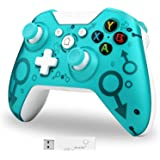 Lampelc Wireless Controller for Xbox One, Xbox Wireless Controller Game Controller Gamepad Joystick for Xbox One, PC and PS3,