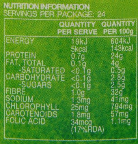 Lifestream Organic Barley Grass Capsule Pack of 120
