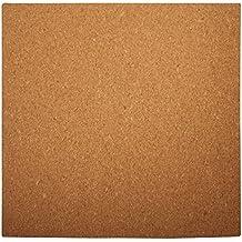 RAYHER - 69066000 - Karen Marie planchas de corcho, cuadrado, 30 x 0,5 cm, medida en arco