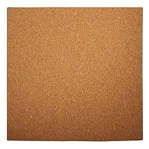 rayher 69066000 tavoletta quadrata in sughero 30 x 30 x 0 5 cm con arco misurazione per. Black Bedroom Furniture Sets. Home Design Ideas