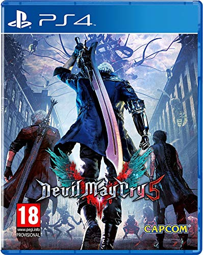 Capcom Devil May Cry 5 Básico PlayStation 4 vídeo - Juego (PlayStation 4, Acción, M (Maduro))