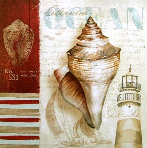 Fertig-Bild - Conrad Knutsen: Atlantic Ocean 30 x 30 cm -