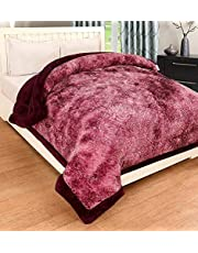 selective Soft Microfibre Winter Heavy Quilt, Double Size, Metallic Brown