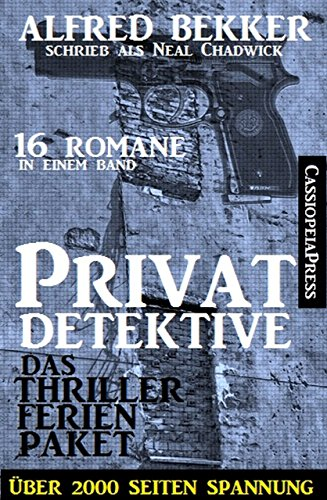 Privatdetektive - das Thriller Ferien-Paket