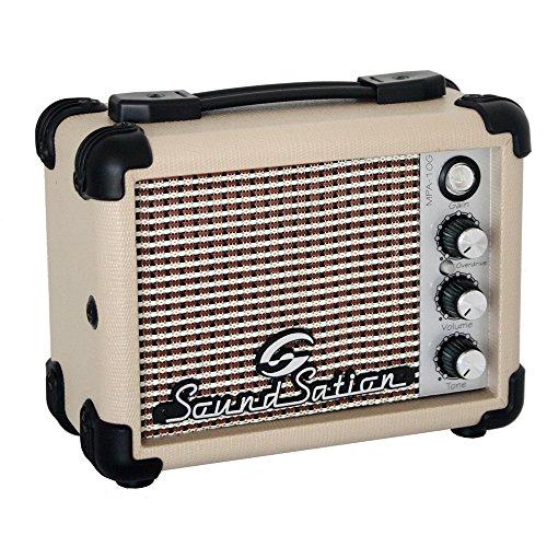 SoundSation Tragbarer Miniverstärker, 5W, mit Batterie, für Gitarren
