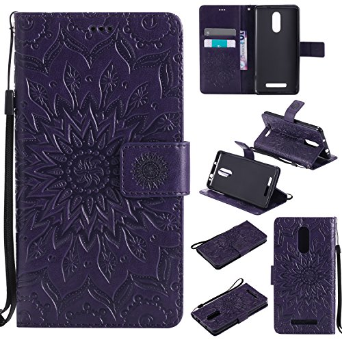 Price comparison product image Hongmi Redmi Note 3 Case,BONROY® Hongmi Redmi Note 3 Mandala PU Leather Phone Holster Case, Flip Folio Book Case, Wallet Cover with Stand Function, Card Slots Money Pouch Protective Leather Wallet Case for Hongmi Redmi Note 3