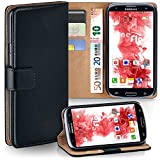 Samsung Galaxy S3 Hülle Schwarz mit Kartenfach [OneFlow Wallet Cover]