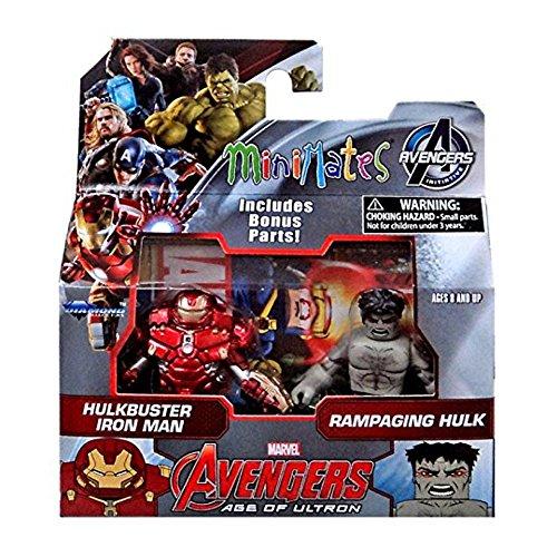 Marvel Avengers Minimates Serie 63Pack 2Figuren: Hulkbuster & Hulk