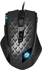 Sharkoon Drakonia Black Gaming Laser Maus 8200 dpi (11 Tasten) schwarz