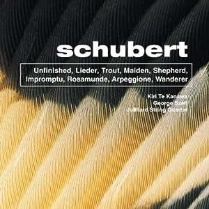 Schubert: Unfinished / Lieder / Trout / Maiden / Shepherd / Impromptu / Rosamunde / Arpeggione / Wanderer