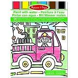 Melissa & Doug 14164 - Pintar con agua vehículos