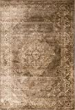 A2Z Rug Vintage Traditional Santorini Collection Brown 80x150 cm - 2.6x5 ft Area Rugs