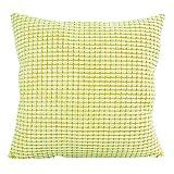 Vovotrade ✿✿ Beliebt!!! Cotton Cord Dekorative Sofa Startseite Throw Kissenbezug Kissenbezug (Gelb)