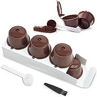 Lezed Capsules de Café Rechargeables pour Dolce Gusto Combinaison Café Filtre Tasse Porte Capsules Dolce Gusto Capsule…