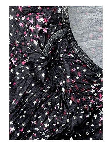 Street One Damen Langarmshirt Schwarz (Black 30001)