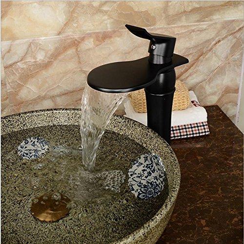 ZHIYUAN Lavatoio rubinetto di fascia alta moda Bathroom sink nero