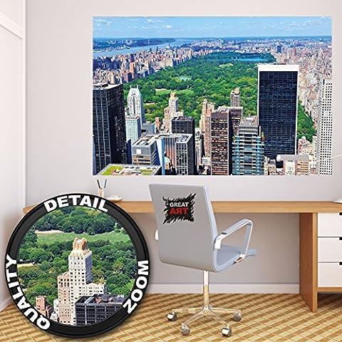 New York Central Park photo wall paper – Manhattan mural – XXL Poster Central Park (Broadway Sala Da Pranzo)