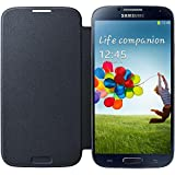 Samsung EF-FI950BBEGWW Flip Cover Galaxy S4, Nero