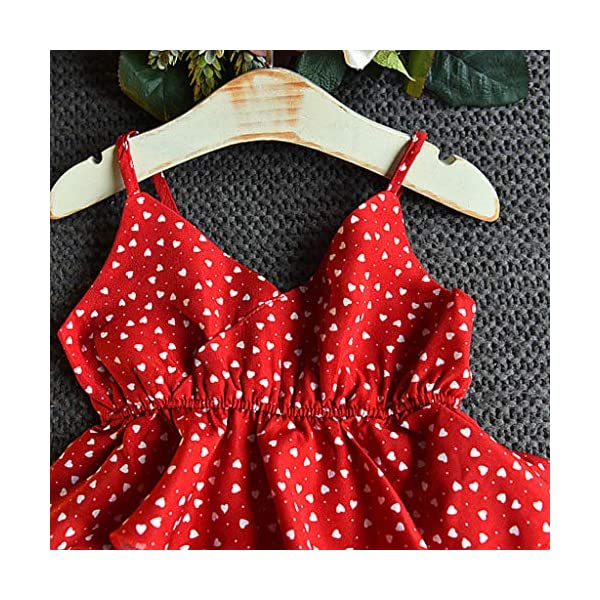 JYC 2019 Baby Girl Dresses | Toddler Kids Clothes Sleeveless Love Printing Party Princess Dress (Red120/13) JYC - Baby Clothes Recommended Age:2-3 Years Label Size:7/90 Bust:52cm/20.47'' Length:53cm/20.87'' Height:85-90cm Recommended Age:3-4 Years Label Size:9/100 Bust:54cm/21.26'' Length:55cm/21.65'' Height:95-100cm Recommended Age:4-5 Years Label Size:11/110 Bust:56cm/22.05'' Length:58cm/22.83'' Height:105-110cm 6
