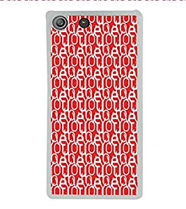 ifasho Designer Phone Back Case Cover Sony Xperia M5 Dual :: Sony Xperia M5 E5633 E5643 E5663 ( Pink Heart Pattern Design )