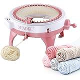 MIAOKE Machine à Tricoter, 48 Aiguilles Rond Intelligent Machines à Tisser à Tricoter Bricolage Kit de métier à Tisser pour A