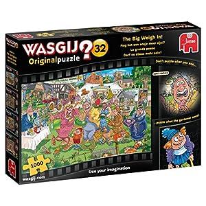 Jumbo- Wasgij Original 32-The Big Weigh In 1000 Piece Jigsaw Puzzle Piezas, Multicolor (19170)