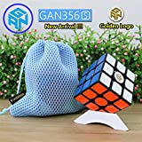 Newest Ganspuzzle GAN356S 3x3x3 Speed Puzzle Magic Cube Black (+ a Cube Tripod and a Cube Bag) Nuevo ganspuzzle gan356s 3x3x3 velocidad Puzzle Magic Cube negro (+ un cubo y un cubo bolsa trípode)