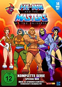 He-Man and the Masters of the Universe - Die komplette Serie (14 DVDs) (exklusiv bei Amazon.de) [Limited Edition]