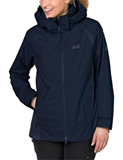 Jack Wolfskin Damen Hopewell Rocks 3 in 1 Jacke: