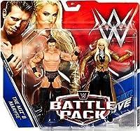 WWE BATTAGLIA CONFEZIONE SERIE 46 ACTION FIGURE - THE MIZ & Card Maryse 'The IT COPPIA DI WWE ' - Nuovissime in scatola