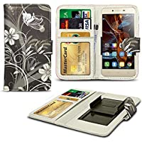 N4U Online® Various Patterns Clip On Series PU Leather Wallet Book Case For Nokia Lumia 930