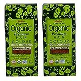 Radico Goldenes Blond 2er-Pack Colour Me Organic Pflanzenhaarfarbe (bio, vegan, Naturkosmetik) goldbx2