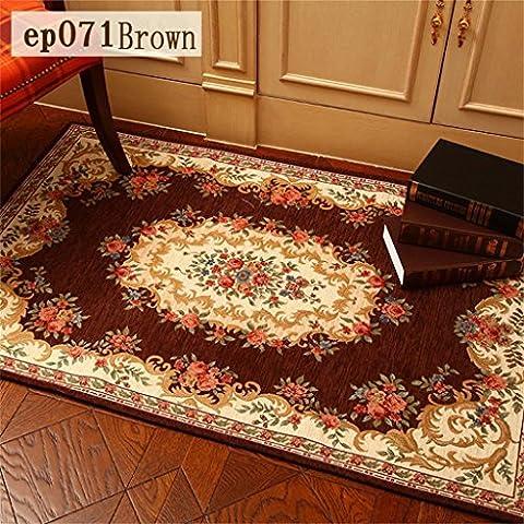 Americano Carpet Camera da letto tappetino tappeto da salotto continentale sottile minimalista moderno toilette Ottomani Lavabile in lavatrice