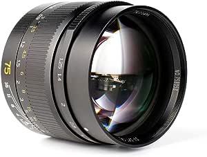 7artisans 75mm F1 25 Full Frame Manual Fixed Lens For Camera Photo