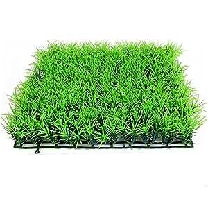 gosear 25 x 25cm en plastique d 39 aquarium vert gazon synth tique pelouse paysage d coration. Black Bedroom Furniture Sets. Home Design Ideas