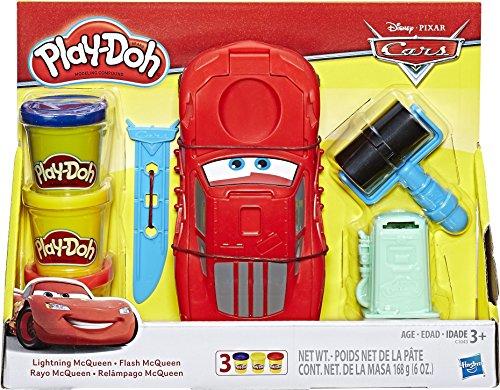 Hasbro Play-Doh C1043EU4 - Cars Lightning McQueen, Knete