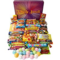 Simply Sweets super retro sweet hamper gift box. Packed with the best retro sweets. A perfect hamper for Birthdays, Get Well Soon, Christmas. Packed in.