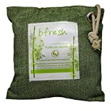 #8: bfresh Natural Air Purifying 500 Gms Bag | 100% Premium Moso Bamboo Charcoal | Chemical free, Non Electric Air Purifier/Freshener, Deodorizer and Dehumidifier | Absorbs and Removes Odours, Pollutants, Allergens, Bacteria, VOCs, Moisture and Humidity | Prevents Moulds and Mildew | Used in Car, Kitchen, Bathroom/Toilet, Closet, Shoe Rack, Sports & Gym bag, Refrigirator, Freezer, Pet Dog/Cat Area |