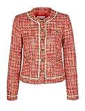 Brigitte von Boch - Damen - Moreno Jacke - Eleganter Kurz-Blazer für den Klassischen Mode-Look, Größe:40