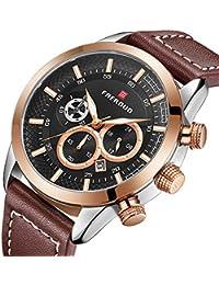 Reloj de los Hombres Reloj de los Hombres de Lujo Hombres Reloj Deportivo  Ocasional Cron¨ 72560fe2810e
