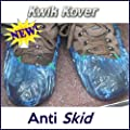 100 Disposable Overshoes ANTI-SKID Covers for use with or without the Kwik Kover Dispenser produced by Kwik Kover - quick delivery from UK.