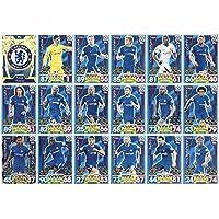 Match Attax 2017/2018 17/18 Full 18 Card Chelsea Team Base Set