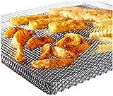Premium Backblech / Backgitter innovative Pommes Maschine – Die Knusperwabe MADE IN GERMANY – Universal Backofenrost für den Backofen