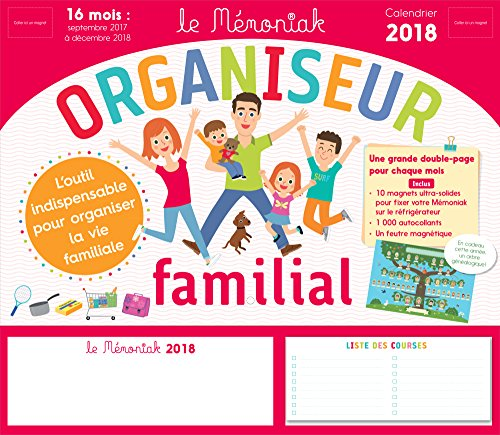 Organiseur familial Mmoniak 2017-2018