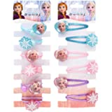 WENTS Frozen Hair Accessories 12PCS Disney Children Hairpin Princess Dress Up Accessories Kids Hair Accessories Clip for…