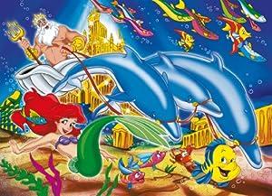 Clementoni 205271- Puzzle infantil de La sirenita (4 puzzles de 6 piezas)