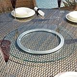 O cama de matrimonio de jardín al aire libre Lazy Susan para mesa de comedor 600 mm de diámetro