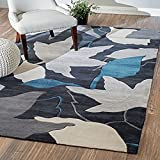 CarPET Flashing- Haushaltsraum Wohnzimmer Flur Teppich Sofa schönen Dicken Handgemachten Blumengarten (größe : 2000MM*2000MM)