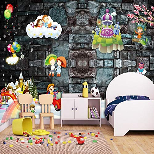 Tapete Magic Kingdom Spielplatz Cartoon Spielzeug Kinderzimmer Dekoration Murals Wallpaper, 400 * 280cm